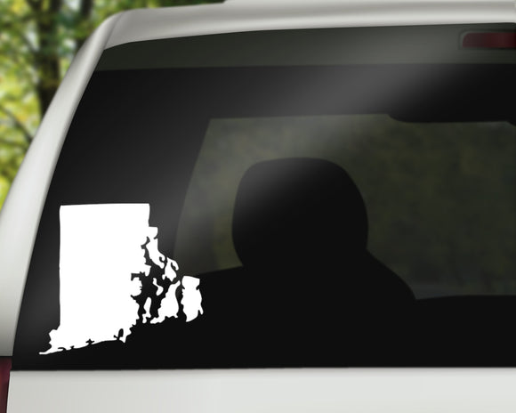 Rhode Island State Decal