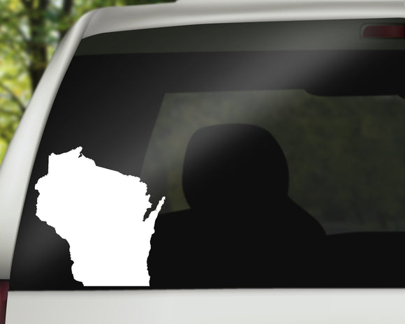 Wisconsin State Decal