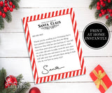 Donate your Toys- Letter From Santa, EDITABLE