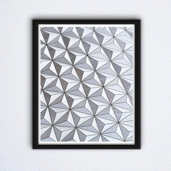 Spaceship Earth Wall Art