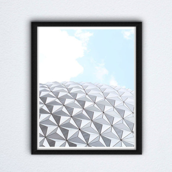 Epcot Wall Art