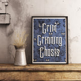 Grim Grinning Ghosts Wall Art