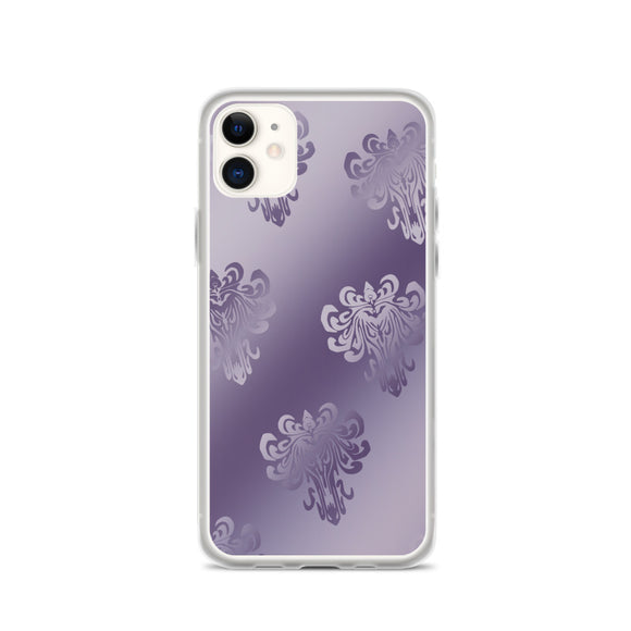 Purple Ombre Haunted Mansion Phone Case