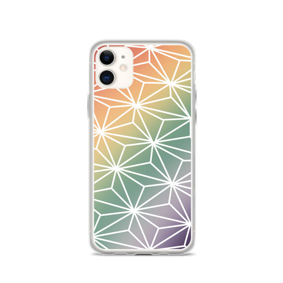 Rainbow Spaceship Earth Phone Case