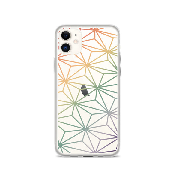 Clear Rainbow Spaceship Earth Phone Case