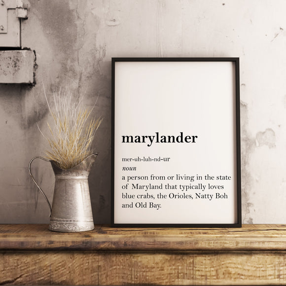Marylander Wall Art