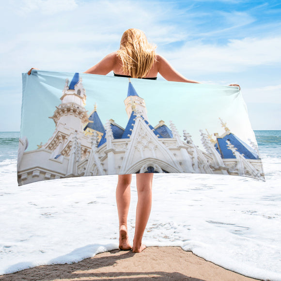 Castle Beach Towel