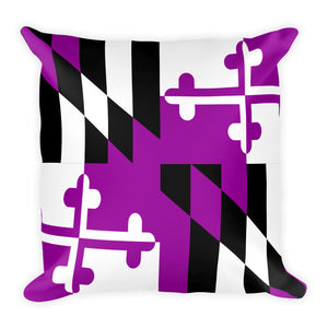 Maryland Football Pillow
