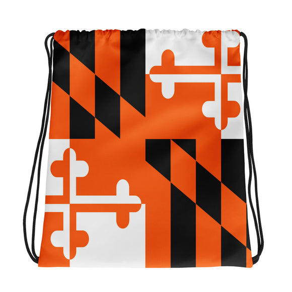 Maryland Drawstring Bag Orange