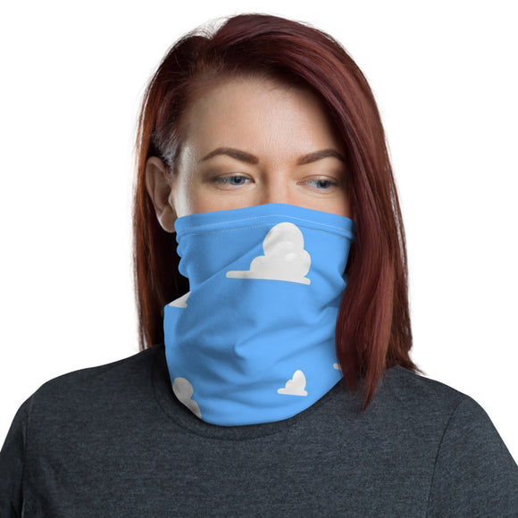 Clouds Face Mask