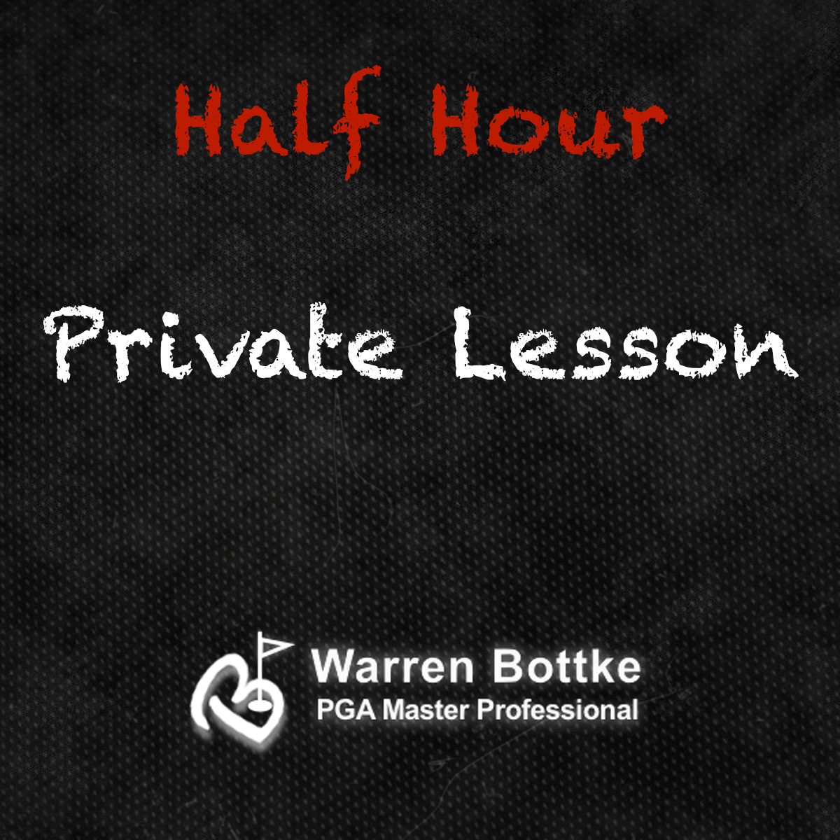 Half Hour Private Golf Lesson