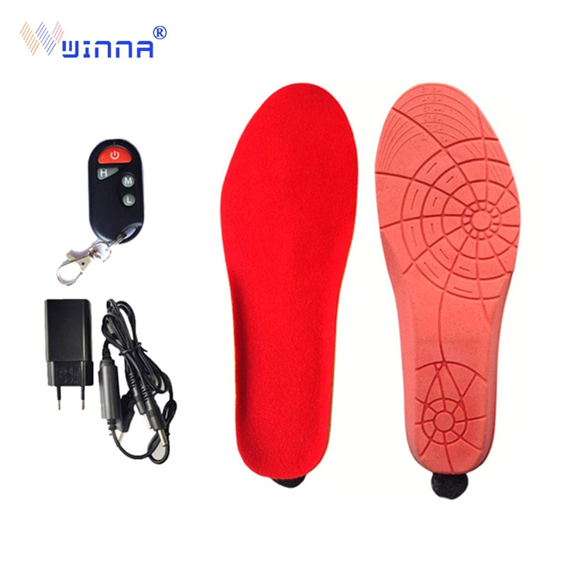 NEW Heated Insoles with Wireless Remote Control