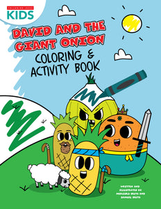 David & The Giant Onion | Coloring & Activity Book