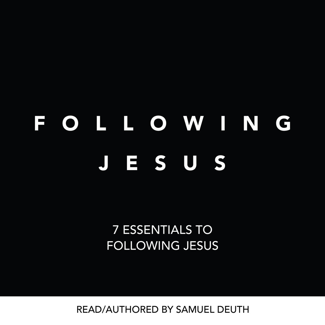 Following Jesus (AUDIO BOOK)