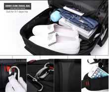 Load image into Gallery viewer, Multi-Functional Oxford Travel Backpack