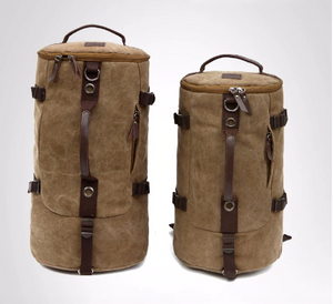 Travel Barrel Bag