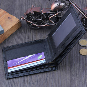 Stitched Business Leather Wallet