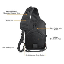Load image into Gallery viewer, Military Sling Shoulder Backpack