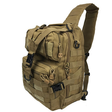 Military Sling Shoulder Backpack