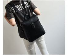 Load image into Gallery viewer, Studded Leather Backpack