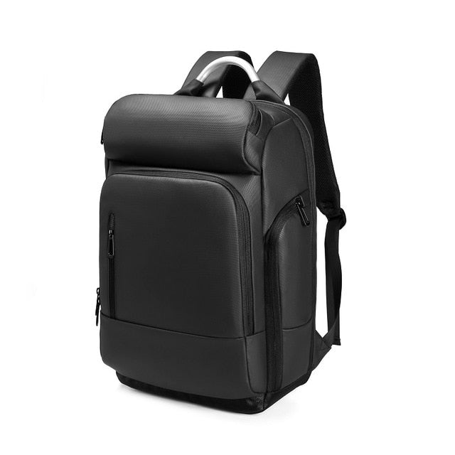 Black Anti-Thief Multifunctional Travel Backpack (15.6'' laptop)