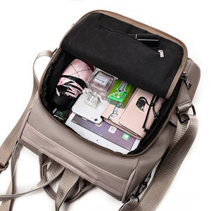Cozy Anti-Theft Backpack