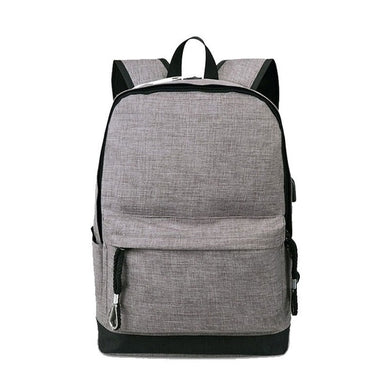 School Bag with USB Charging Port