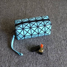 Load image into Gallery viewer, Geometric Cosmetic Bag
