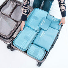 Load image into Gallery viewer, Smart Premium Packing Cubes - 6 Cube Set