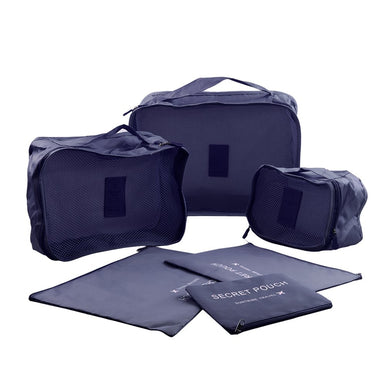 Smart Premium Packing Cubes - 6 Cube Set