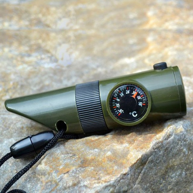 Multi-functional Survival Whistle