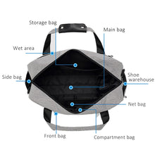 Load image into Gallery viewer, Oxford Wet & Dry Travel Bag