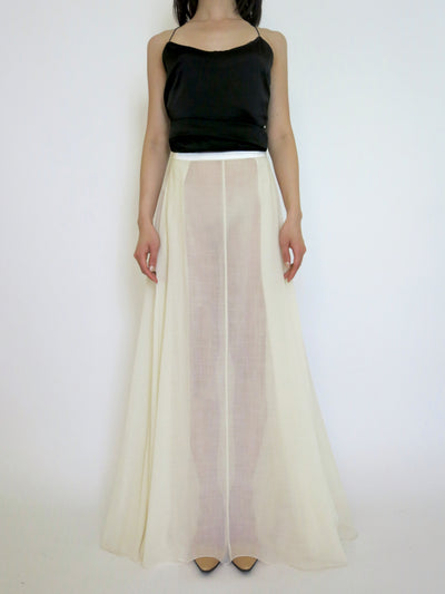 Joan Wool Voile Skirt