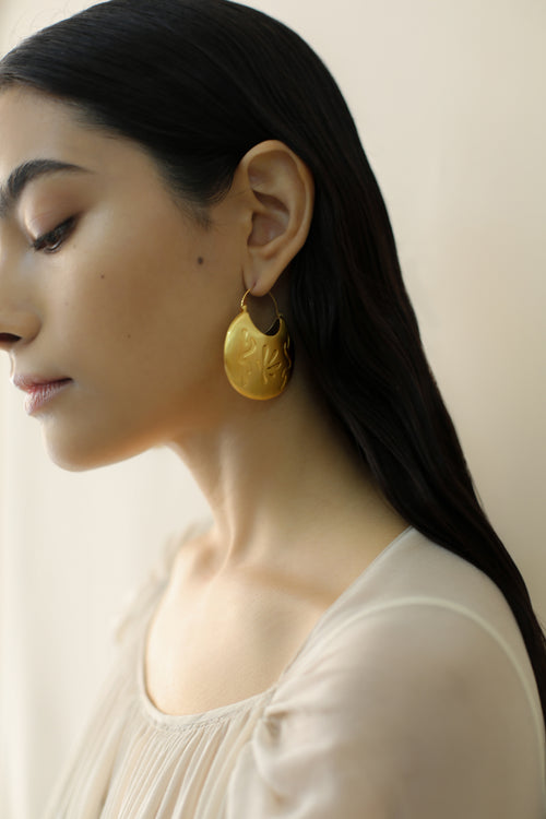 Hollow Round Earring