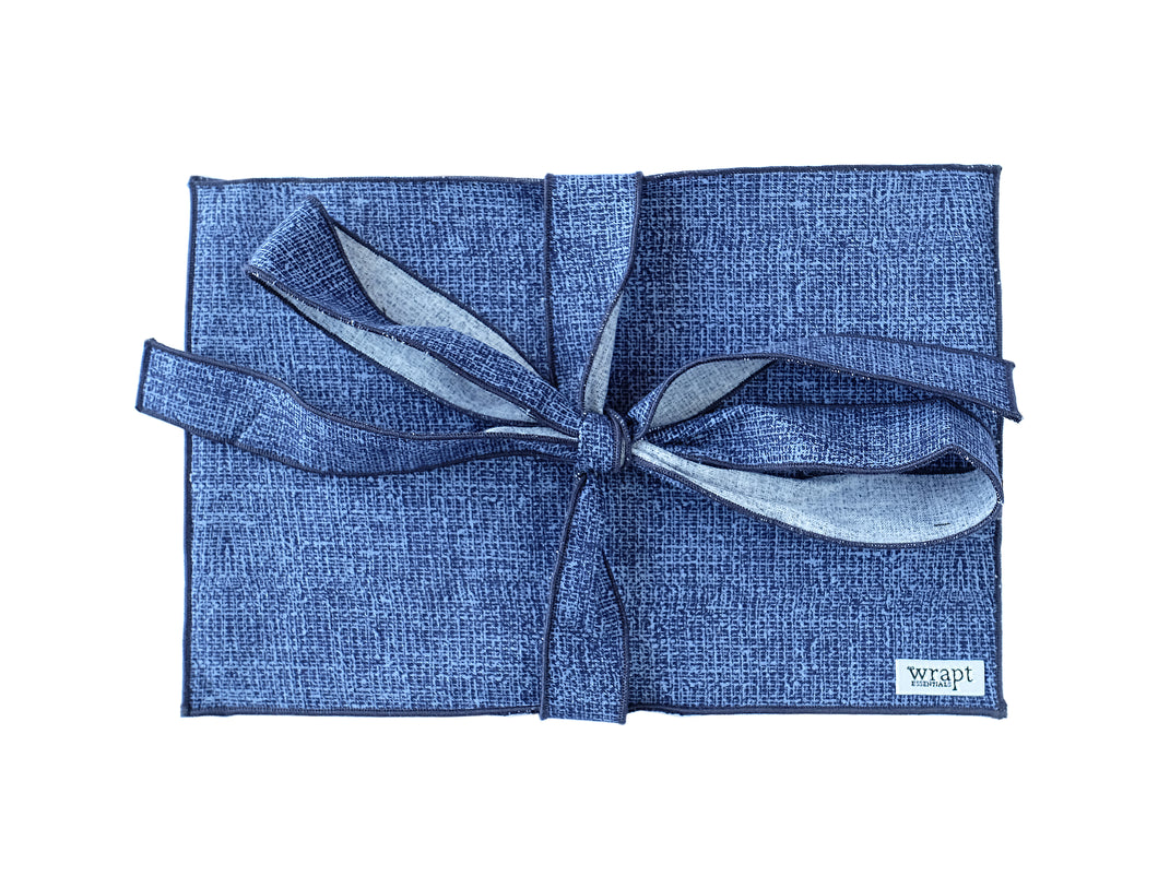 Indigo Greeting Card Wrap