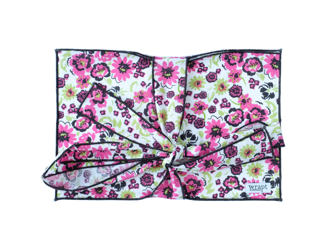 Floral Greeting Card Wrap