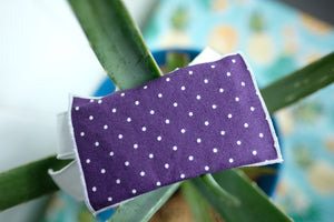 Purple Dot Gift Card Wrap