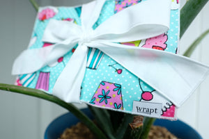 Cupcake Greeting Card Wrap
