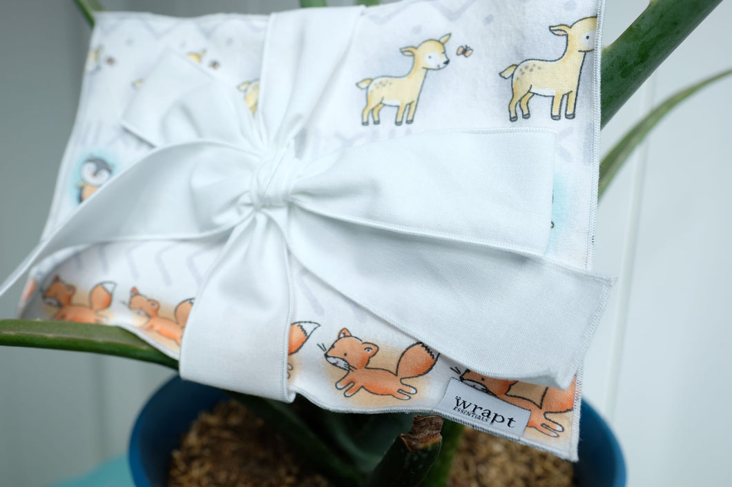 Baby Animals Greeting Card Wrap