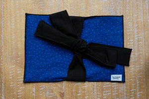 Blue Dot Greeting Card Wrap