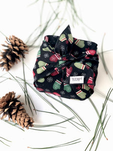 Holiday Mittens Gift Wraps