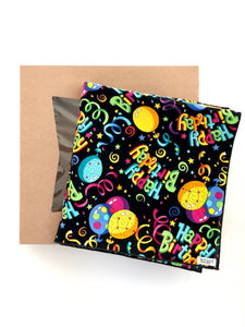 Happy Birthday Gift Wrap with Bakery Box (Large)