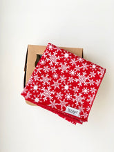 Load image into Gallery viewer, Red Snowflake Wrap