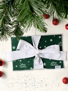 Merry Christmas Greeting Card Wrap