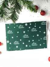Load image into Gallery viewer, Merry Christmas Greeting Card Wrap