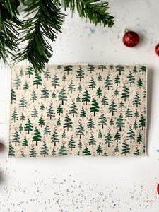 Holiday Tree Greeting Card Wrap