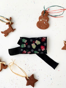 Holiday Mittens Gift Card Wrap