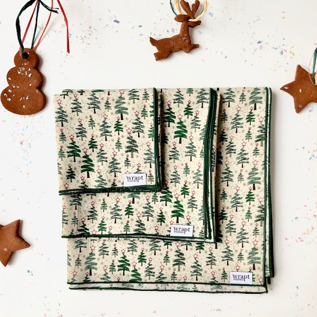 Holiday Tree Gift Wraps