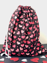 Load image into Gallery viewer, By mine Valentine Drawstring Gift Bag