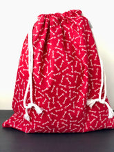 Load image into Gallery viewer, Red Arrow Valentine Drawstring Gift Bag
